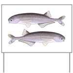 Baby Whale Fish Yard Sign