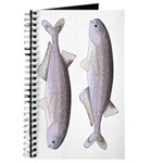 Baby Whale Fish Journal