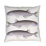 Baby Whale Fish Everyday Pillow