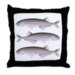 Baby Whale Fish Throw Pillow