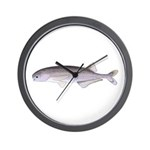 Baby Whale Fish Wall Clock