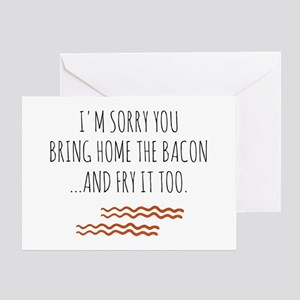 Funny Horrible Wife/Husband Card Greeting Cards