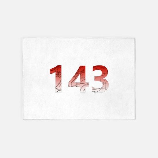 143 5'x7'Area Rug