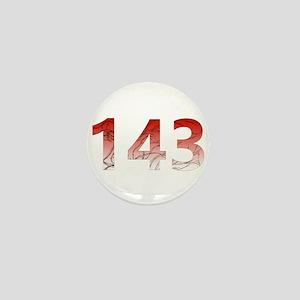 143 Mini Button