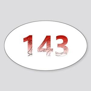 143 Sticker