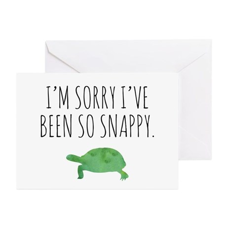 Im sorry ive been so snappy greeting cards by anabellstar im sorry ive been so snappy greeting cards m4hsunfo