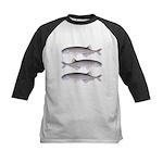 Baby Whale Fish Baseball Jersey