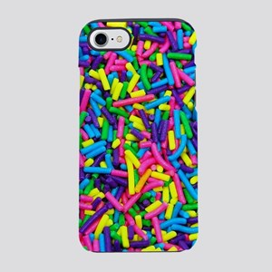 Colorful candy sprinkles iPhone 8/7 Tough Case