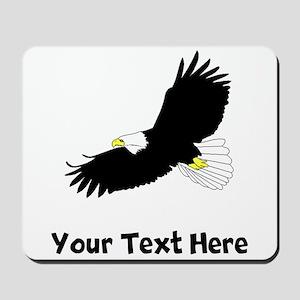 Bald Eagle Flying (Custom) Mousepad