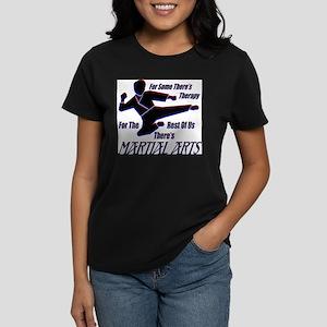 Martial Arts Therapy Ash Grey T-Shirt