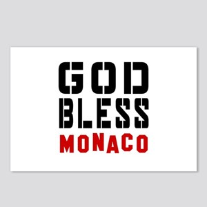 God Bless Monaco Postcards (Package of 8)