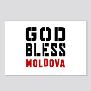 God Bless Moldova Postcards (Package of 8)