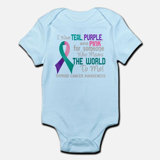 - Thyroid Cancer Means World To Me 2D Body Suit
