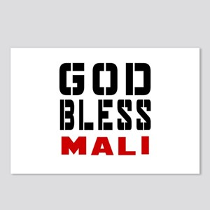 God Bless Mali Postcards (Package of 8)