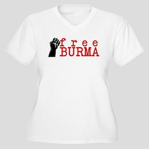 freeburma6 Plus Size T-Shirt