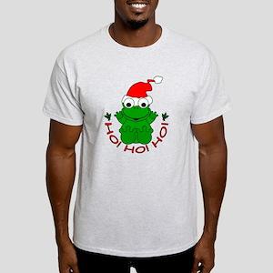 Cartoon Frog Santa Light T-Shirt