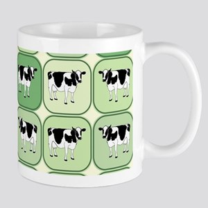Tiled cows pattern Mugs
