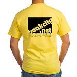 Freakcity Yellow T-Shirt