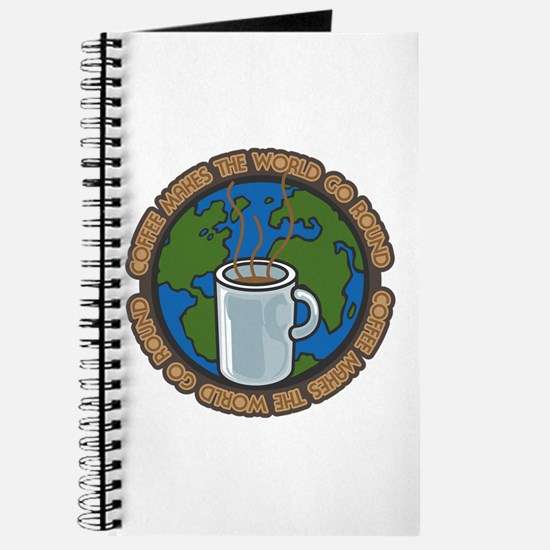 Coffee Makes the World Go Round Journal