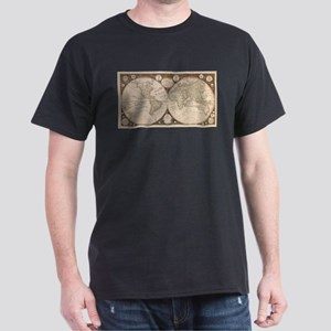 Vintage Map of The World (1799) 5 T-Shirt