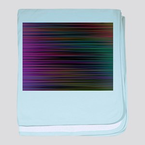 Decorative Colorful Stripes baby blanket