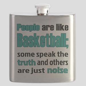 People are like Basketball Flask