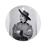 George Armstrong Custer Round Ornament
