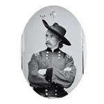 George Armstrong Custer Oval Ornament