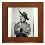 George Armstrong Custer Framed Tile