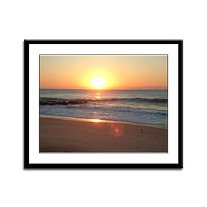 Holgate Sunrise Framed Panel Print
