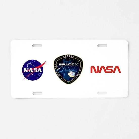 CRS-3 Logo Aluminum License Plate
