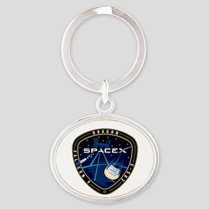 CRS-3 Logo Oval Keychain