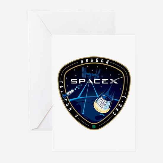 CRS-3 Logo Greeting Cards (Pk of 10)