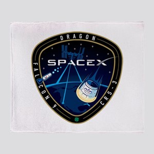 CRS-3 Logo Throw Blanket