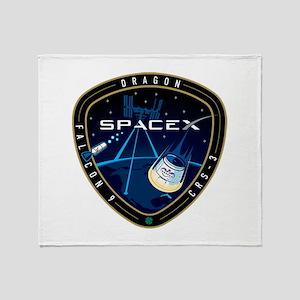 CRS-3 Logo Throw Blanket