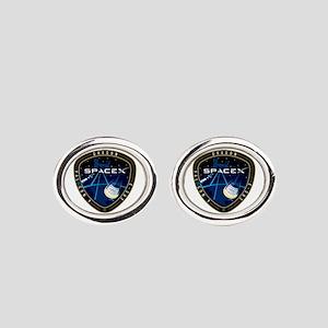CRS-3 Logo Oval Cufflinks
