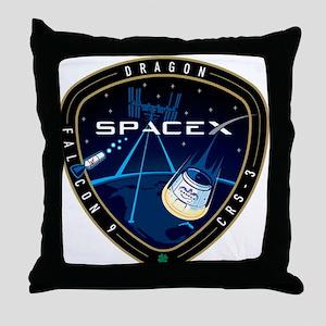CRS-3 Logo Throw Pillow
