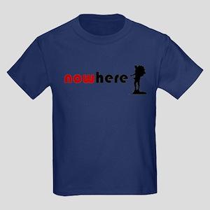 Nowhere Hiker Kids Dark T-Shirt
