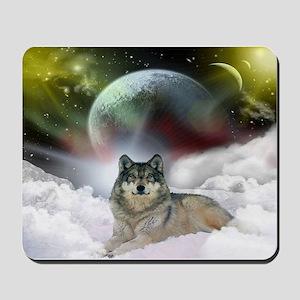 Wolf Cloud Mousepad
