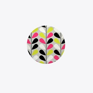 Retro Pattern Mini Button