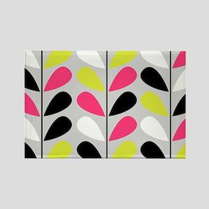 Retro Pattern Magnets