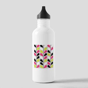 Retro Pattern Water Bottle