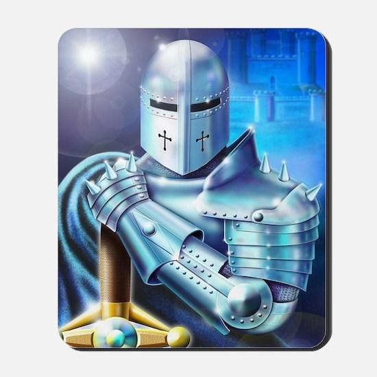 Blue Knight Mousepad