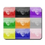 Colourful House Mousepad