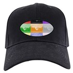 Colourful House Black Cap