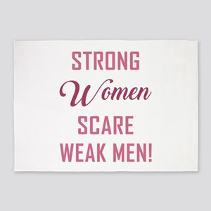 STRONG WOMEN... 5'x7'Area Rug