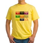 Colourful House Yellow T-Shirt
