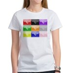 Colourful House Women's T-Shirt
