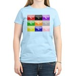 Colourful House Women's Light T-Shirt