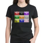 Colourful House Women's Dark T-Shirt